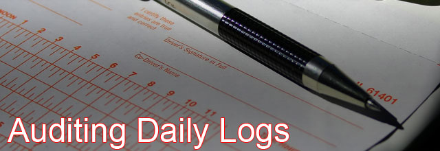 daily driver log audit